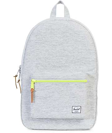 Herschel Supply Co. Settlement Light Grey Crosshatch 23L Backpack