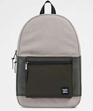 Herschel Supply Co. Settlement Light Khaki & Forest Aspect 23L Backpack