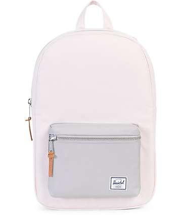 Herschel Supply Co. Settlement Mid Cloud Pink & Grey 17L Backpack