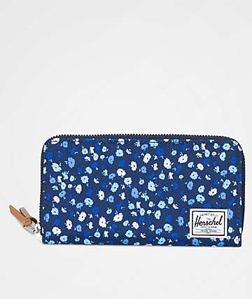 Herschel Supply Co. Thomas Peacoat Floral Wallet