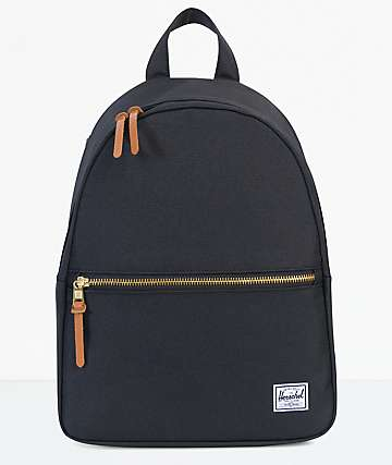 Herschel Supply Town Black 9L Mini Backpack