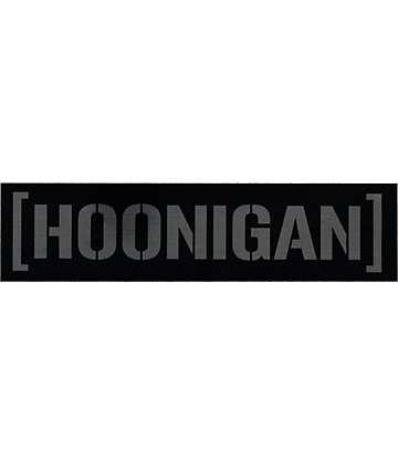Hoonigan Aluminum Censor Bar Sticker