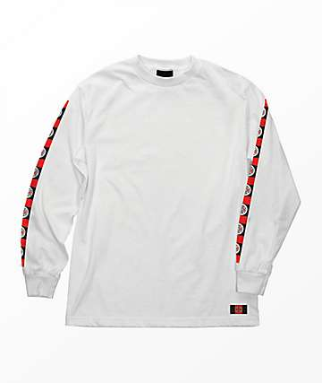 Independent Banner White Long Sleeve T-Shirt