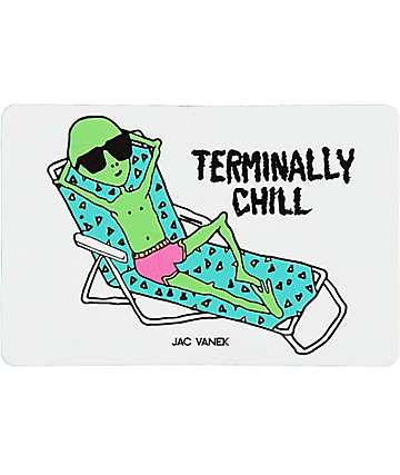 JV by Jac Vanek Terminally Chill Sticker