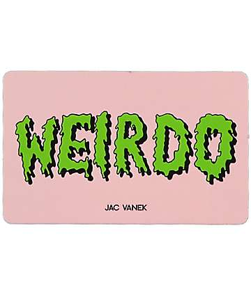 JV by Jac Vanek Weirdo Sticker
