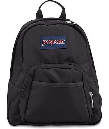 Jansport Half Pint Black Backpack