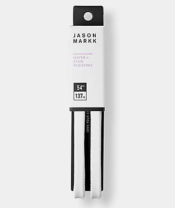 "Jason Markk 48"" Flat White Shoelaces"
