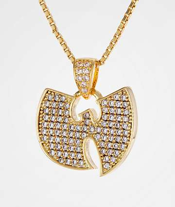 King Ice X Wu-Tang Stone Gold Women's Necklace