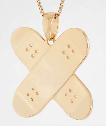 King Ice x Skate-Aid 14K Gold Necklace