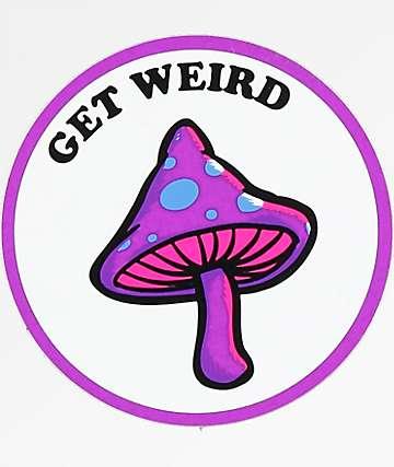 Know Bad Daze Get Weird Sticker