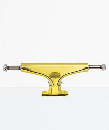 """Krux Krome Gold 8.0"""" Skateboard Truck"""