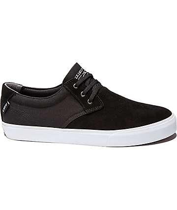 Lakai Daly Black Suede Shoes