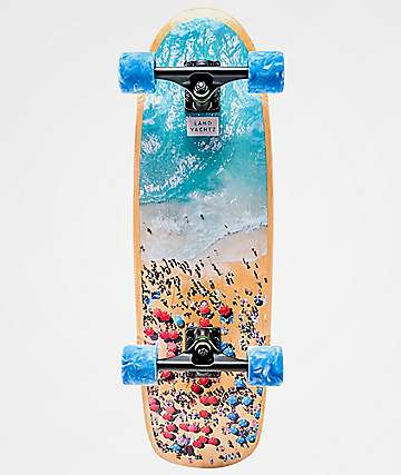 "Landyachtz Tugboat Beach Party 30"" Cruiser Complete Skateboard"