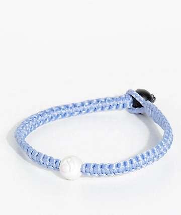 Lokai Single Wrap Ice Blue Bracelet