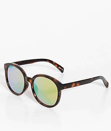 Mackenzie Tortoise & Yellow Sunglasses