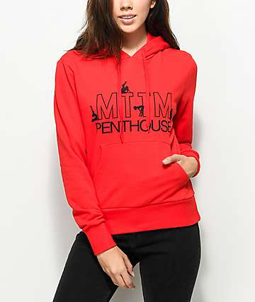 Married To The Mob x Penthouse Dancer Red Hoodie