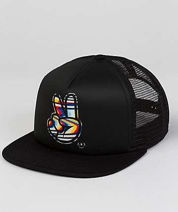 Neff Concord Black Trucker Hat