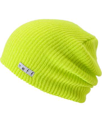 Neff Daily Tennis Ball Yellow Beanie