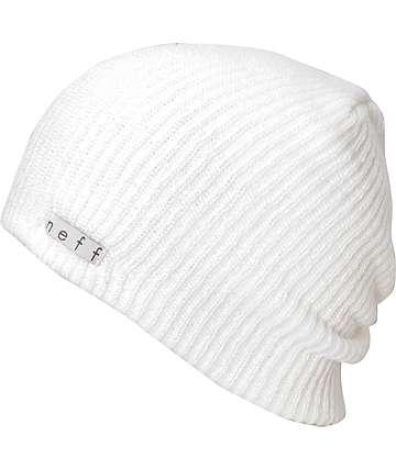 Neff Daily White Beanie