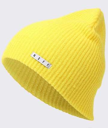 Neff Daily Yellow Beanie
