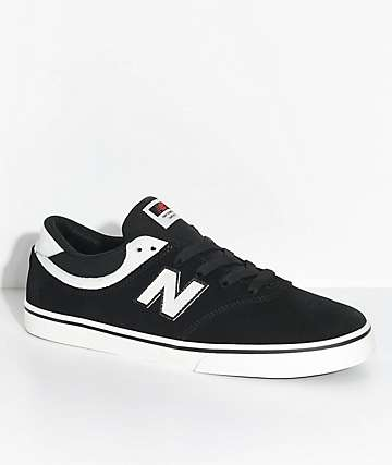 New Balance Numeric 254 Black & Sea Salt Skate Shoes