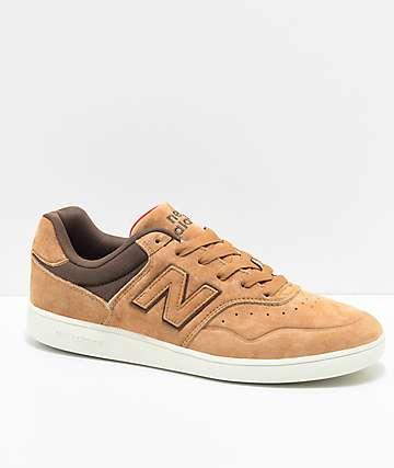 New Balance Numeric 288 Tan & Brown Skate Shoes