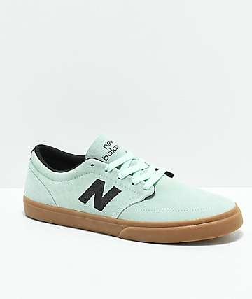 New Balance Numeric 345 Mint & Gum Skate Shoes