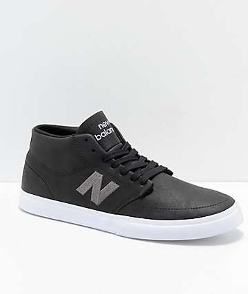 New Balance Numeric 346 Black & Grey Skate Shoes