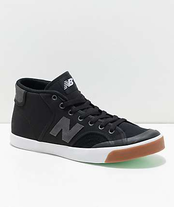 New Balance Numeric Pro Court 213 Black & Gum Shoes