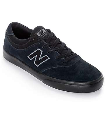 New Balance Numeric Quincy 254 Black & Black Shoes