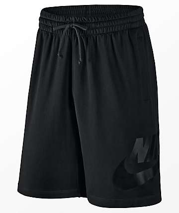 Nike SB Dri Fit Sunday Black Shorts