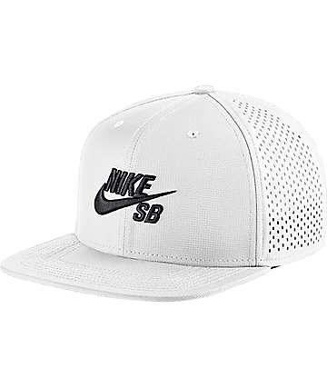 Nike SB Performance White Trucker Hat