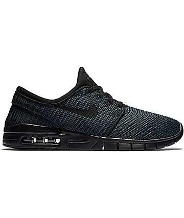 Nike SB Stefan Janoski Max Black & Black Shoes