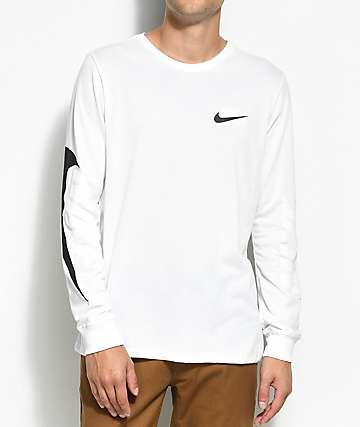 Nike SB Tonal Futura White & Black Long Sleeve T-Shirt
