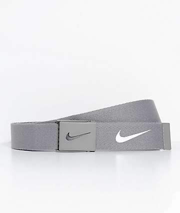 Nike Tech Essentials Light Charcoal Web Belt