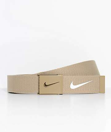 Nike Tech Essentials Tan Web Belt