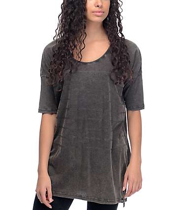 Nikita Gale Stripe Black T-Shirt