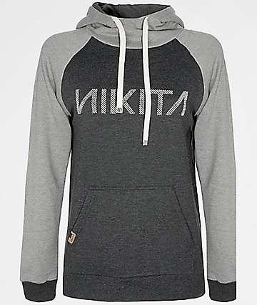 Nikita Reykjavik Classic Black & Grey Hoodie