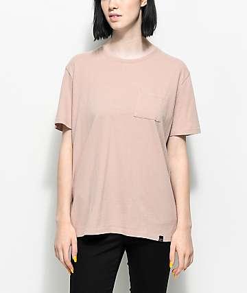 Ninth Hall Steph Shadow Grey Pocket T-Shirt