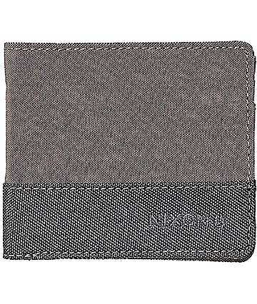 Nixon Atlas Nylon Showdown Grey Bifold Wallet