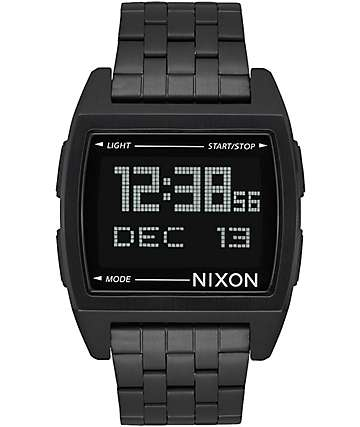 Nixon Base All Black Watch