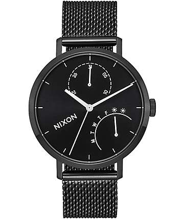 Nixon Clutch All Black & White Watch