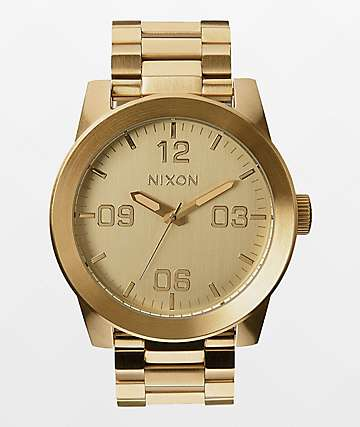 Nixon Corporal SS All Gold Watch