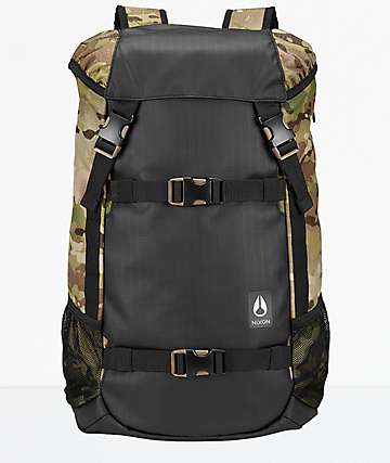 Nixon Landlock III Multicam 33L Backpack