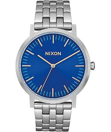 Nixon Porter Deep Blue Sunray Watch