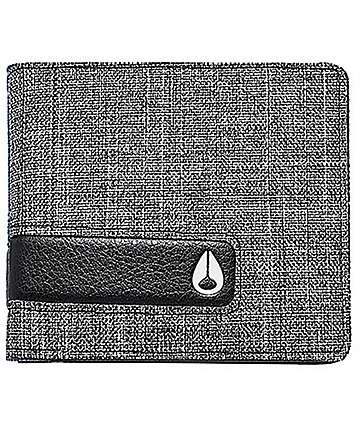 Nixon Showdown Black Wash Bifold Wallet
