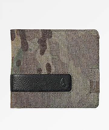 Nixon Showoff Bi-Fold Multicam Wallet
