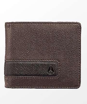 Nixon Showoff Bifold Brown Wallet