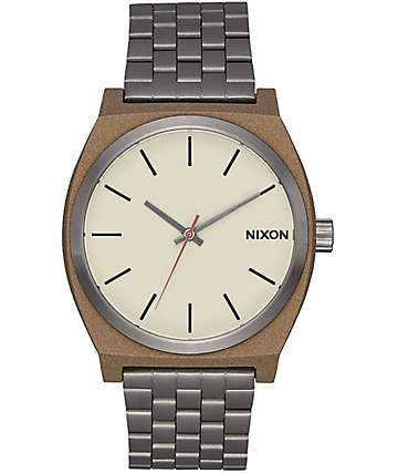 Nixon Time Teller 37 Bronze & Gunmetal Watch
