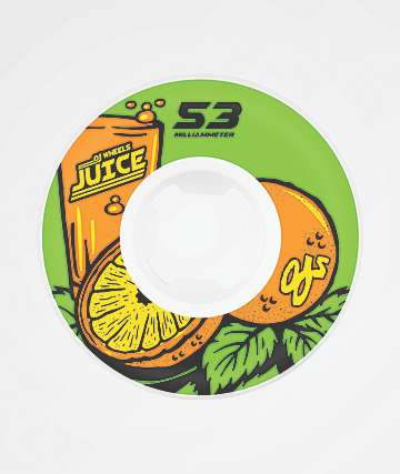 OJ Insaneathane Hardline 53mm 99a Skateboard Wheels